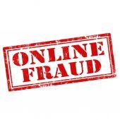 Online-Betrug — Stockvektor