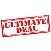 Ultimate Deal — Stock Vector