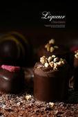 Liqueur Chocolates — Stock Photo