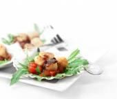 Scallops Salad II — Stock Photo
