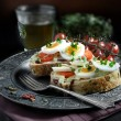 Egg and Cress Sandwich — Stock Photo #67178057