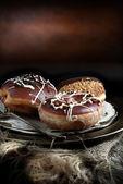 Chocolate Donuts III — Stock Photo