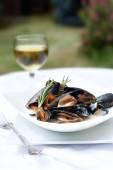 Summer Mussels III — Stock Photo