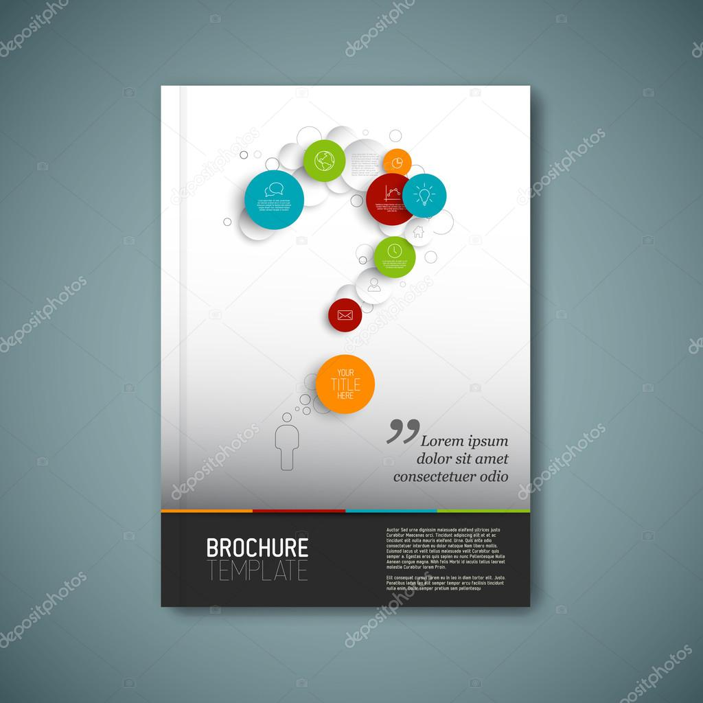 vector brochure report design template stock vector copy orson vector brochure report design template stock vector 59948163