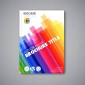 Brochure abstraite moderne — Vecteur