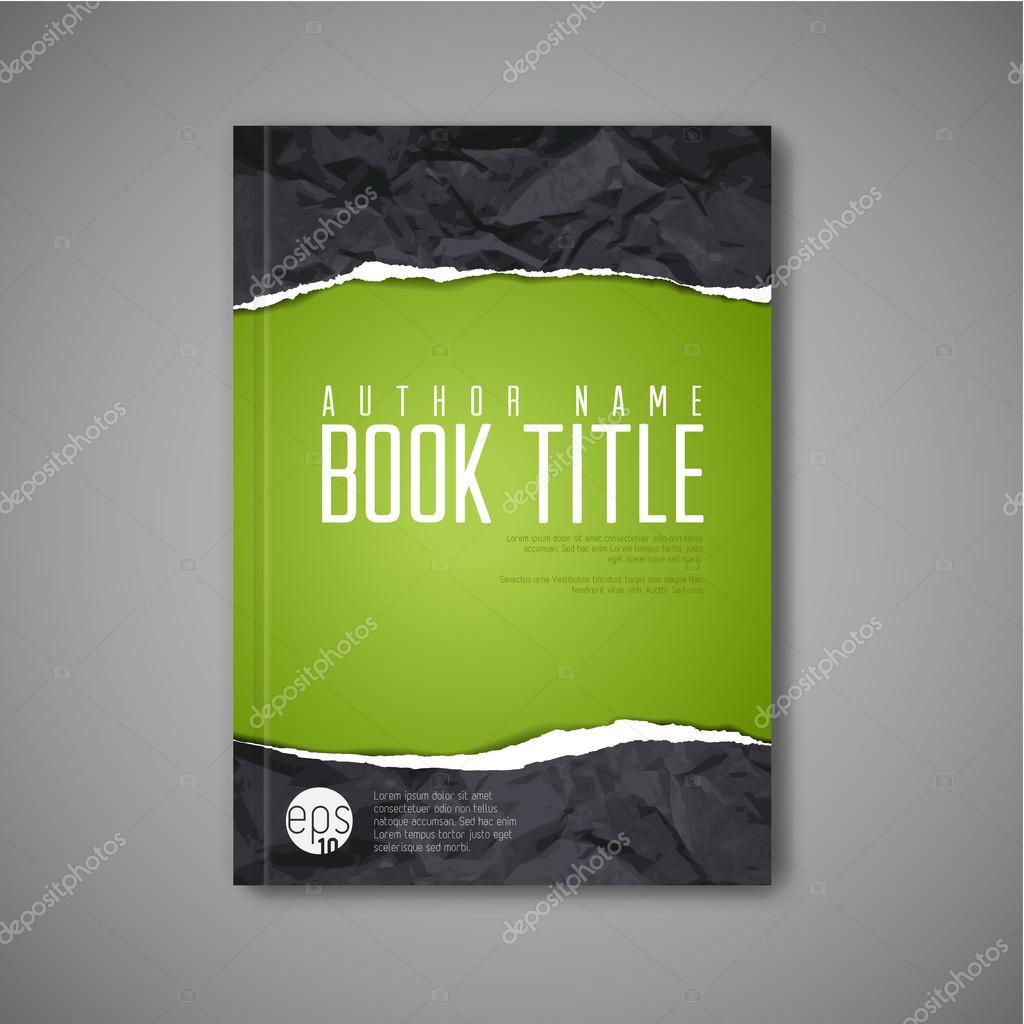 abstract book cover template stock vector copy orson  abstract book cover template stock illustration