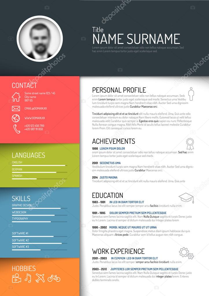 curriculum vitae free download resume template images for resume ...