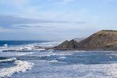 Beautiful coastline region of Sagres, located in Portugal — Stock Photo