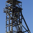 Old abandoned mining coal tower — Stock Photo #60197371