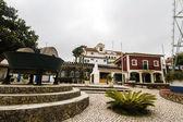 Vista parcial do Museu a famosa casa de Jose Franco — Fotografia Stock