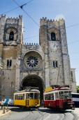 Beautiful Cathedral of Se located in Lisbon — Foto Stock
