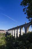 Historical aqueduct built in the 18th century — Stock Photo