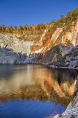 Mining acidic lake located in Rio Tinto, Spain — Stock Photo