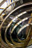 Fresnel lens inside a lighthouse — Stock Photo