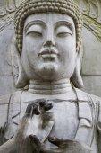 Buddha statue on a park. — Stock Photo