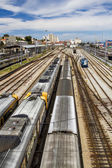 View of the Santa Apolonia train station — Stock Photo