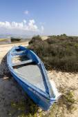 View of an old abandoned boat — Stock Photo