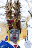 Parade of costumes and traditional masks — Foto de Stock