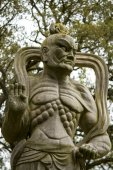 Buddha statue on a park. — ストック写真