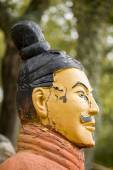 Replica statue located in Buddha Eden park, — Stock Photo