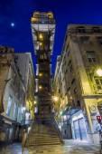 Neo-gothic lift of Santa Justa — Stock Photo