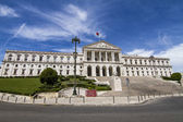 View of the monumental Portuguese Parliament — Stockfoto