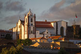 Silves main village Church — Stock Photo