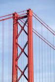 リスボンの 25 de Abril 橋 — ストック写真