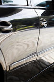 Detail of the door sides of a automobile — Foto de Stock