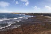 Beautiful landscape view of the Papoa viewpoint near Peniche — Photo