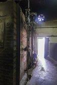 Old brick furnace — Stock Photo
