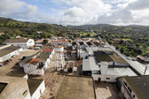 Landscape view of Santa Catarina Fonte de Bispo village — Stock Photo