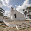 Small white typical Christian church on the Alentejo region — Stock Photo #74070517