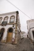 Typische straten van het dorp Sao Bras de Alportel — Stockfoto