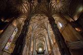Amazing gothic Monastery of Jeronimos landmark — Stock Photo