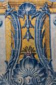 Português antigo azulejo azulejos — Fotografia Stock