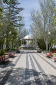美丽和放松主要花园的塔维拉 — 图库照片