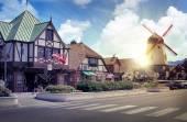 Danish European town of Solvang — Stock Photo