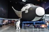 Columbia space shuttle model — Stock Photo