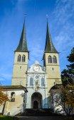 Hofkirche church — Stock Photo