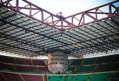 Milan vs Sampdoria — Stock Photo