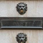 Venice doorbell — Stock Photo #73704487