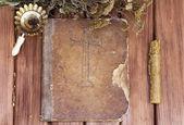 Old psalm book — Foto de Stock