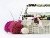 Sfere di filato colorato — Foto Stock