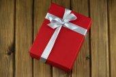 Κόκκινο δώρου — Φωτογραφία Αρχείου