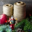 Christmas decoration composition — Stock Photo #79097972