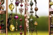 Collana di perline fatti a mano — Foto Stock