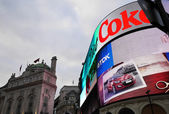 Piccadilly circus, londres, inglaterra — Foto de Stock
