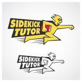 Sidekick Tutor — Stock Vector
