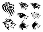 Wild Beast Symbol — Stock Vector